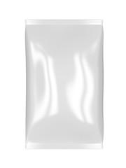 White foil bag