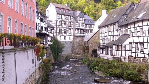 The old water mill in Monschau.