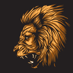 Zodiac Leo Black