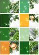 8 Weihnachtskarten, Oh Tannenbaum, Set, Vorlage, Template