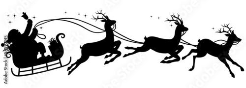 santa's sleigh - 56597145