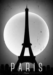 Paris Vintage Poster Design