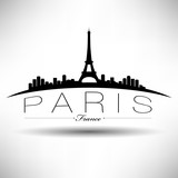 Modern Paris Skyline Design