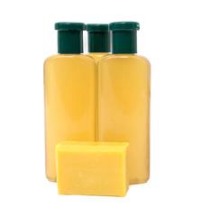 Yellow soap