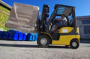 transport logistique - cariste