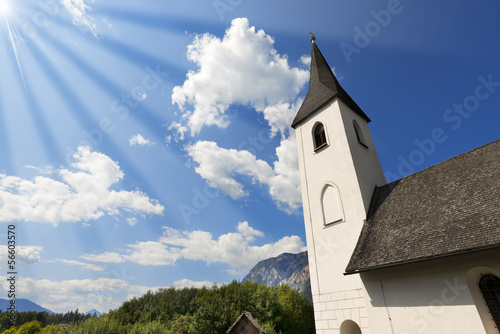 Small Mountain Church - Oberschütt Austria