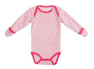 Children's clothing jumpsuit in a star
