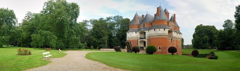 Panorama du Château de Rambures, France