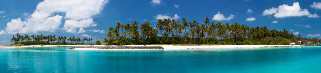 High resolution photo of tropic island at Maldives