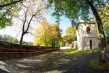 Klasztor ooFranciszkanów, łagiewniki, Łódź, jesień  - 56608929
