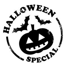 Stempel Halloween Aktion, schwarz