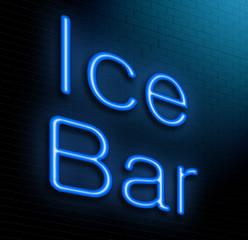 Ice Bar concept.