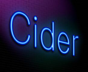Cider concept.