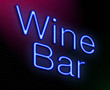 Wine bar concept.