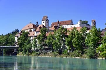 Hohes Schloss über dem Lech, Füssen