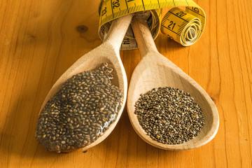 Chia Saat und Saatgel zum Abnehmen