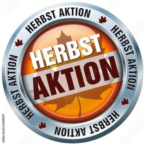 Button - Herbst Aktion