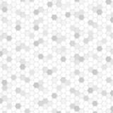Honeycomb Background Gray #Vector