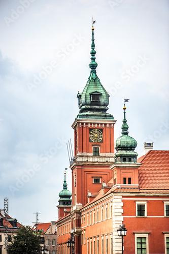 The Royal Castle and Sigismund's Column © tan4ikk