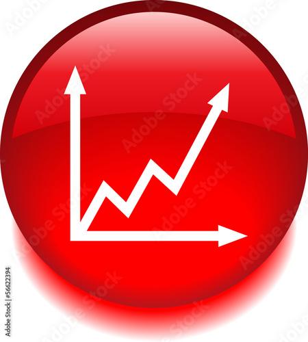 Круглый знак с изображением графика