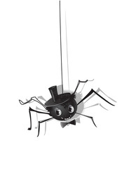 Halloween spider ISOLATED