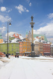 Fototapety Old town square, Warsaw, Poland