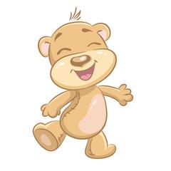 Children's illustration merry Bears.