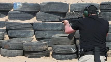 Kalashnikov shooting