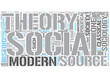 Social theory Word Cloud Concept