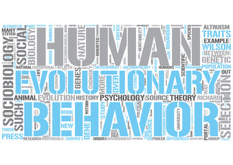 Sociobiology Word Cloud Concept