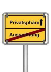 Privatsphäre vs. Ausspähung