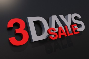Three Days Sale