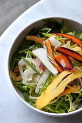 Salade, crudités, frais, légumes, aliment, cuisine, sain