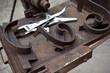 Ferronnerie, fer forgé, métal, artisan, outils, atelier