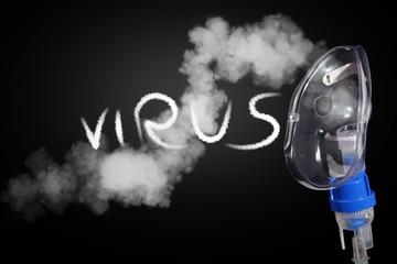 Cura con aerosolterapia e virus