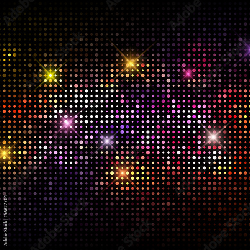 Disco lights background - 56627704