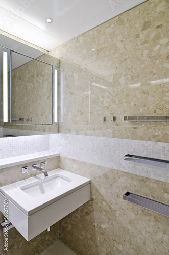 canvas print picture modern bathroom