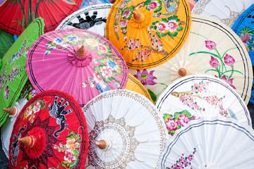 Paraguas tailandeses