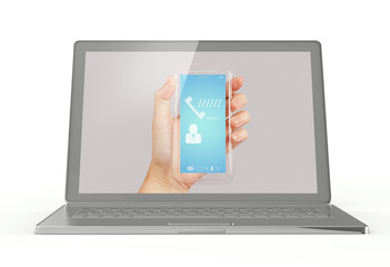 Mobile phones and laptops