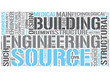 Structural engineering Word Cloud Concept