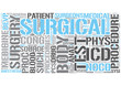 Surgery Word Cloud Concept