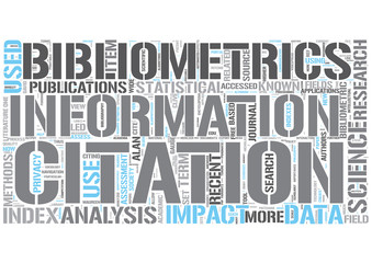 Bibliometrics Word Cloud Concept