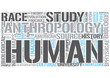 Biological anthropology Word Cloud Concept