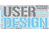User interface design Word Cloud Concept