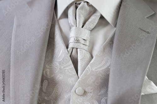 Decoration on man suit