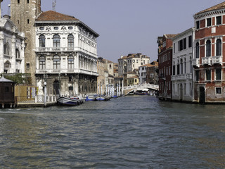 City view of Venice Italy
