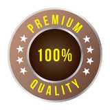 Premium quality badge, vector format