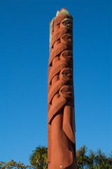 Carved Pole