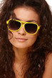 Lady in yellow glasses