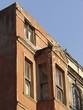 Heruntergekommene Fassade in der Altstadt von Istanbul Beyoglu